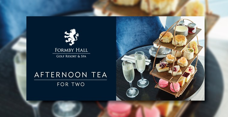 Formby Hall Golf Resort Afternoon Tea