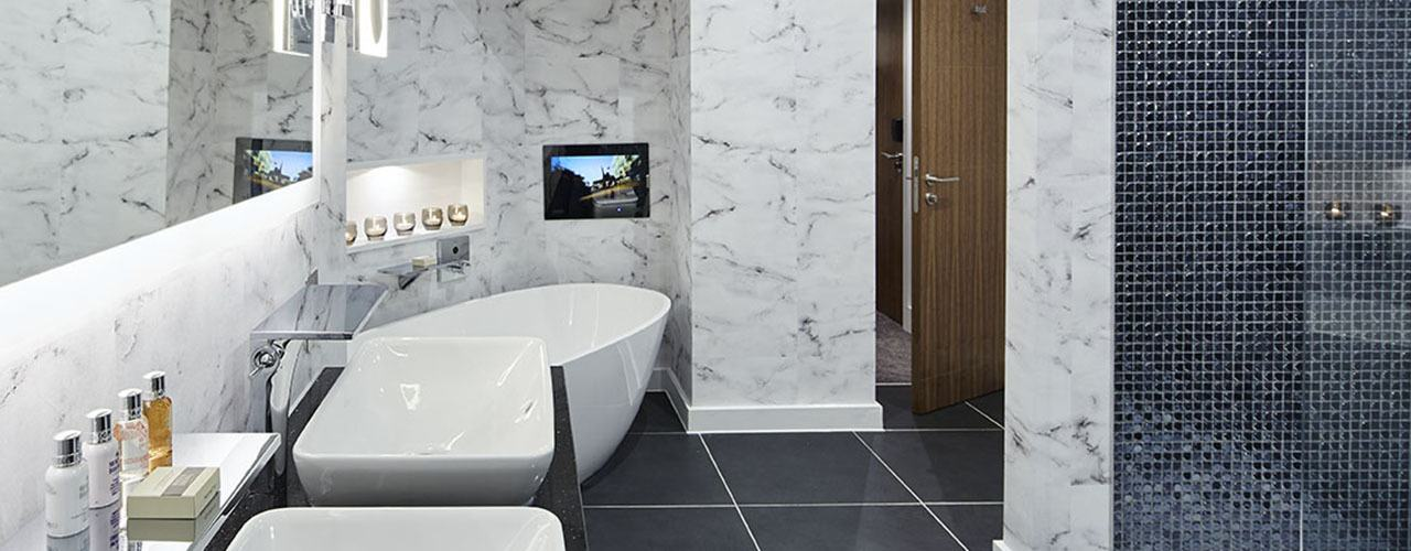 Formby Hall Golf Resort & Luxury Spa Deluxe Loft Bathroom