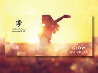 Formby Hall Golf Resort ESPA Glow Spa Break Voucher