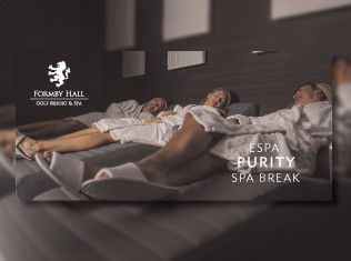 Formby Hall Golf Resort ESPA Purity Spa Break Voucher