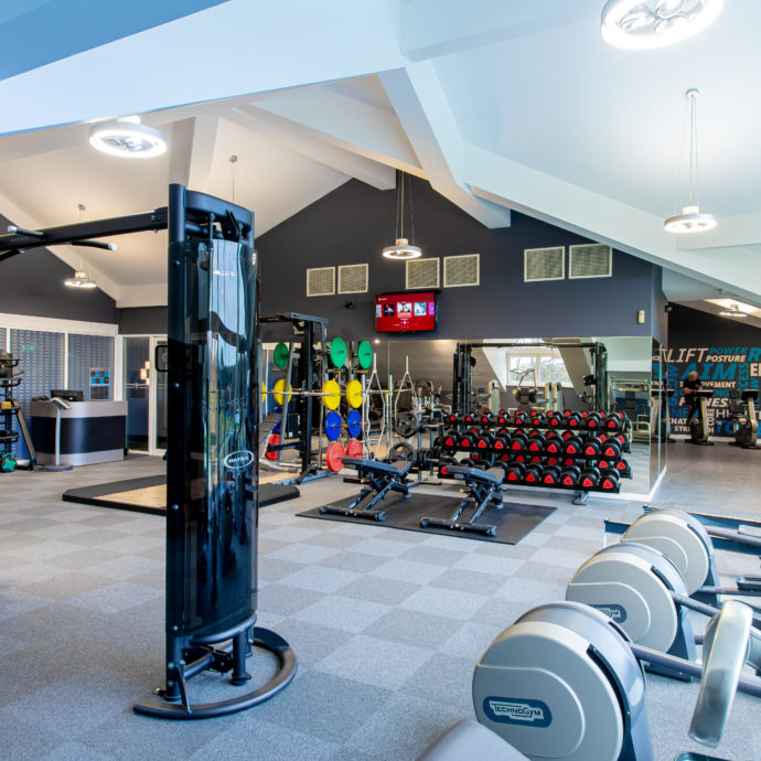 Formby Hall Golf Resort Gym Equipment