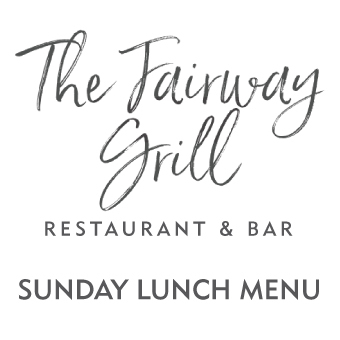 Formby Hall Golf Resort The Fairway Grill Sunday Lunch Menu Thumbnail