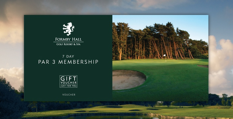 Formby Hall Golf Resort & Luxury Spa Par 3 Membership