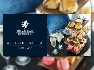 Formby Hall Golf Resort Afternoon Tea Small