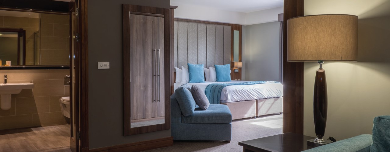Formby Hall Golf Resort & Luxury Spa Deluxe Bedroom